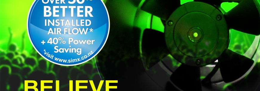 Believe the hype … the Manrose Hyper 150 fan is now better than ever!