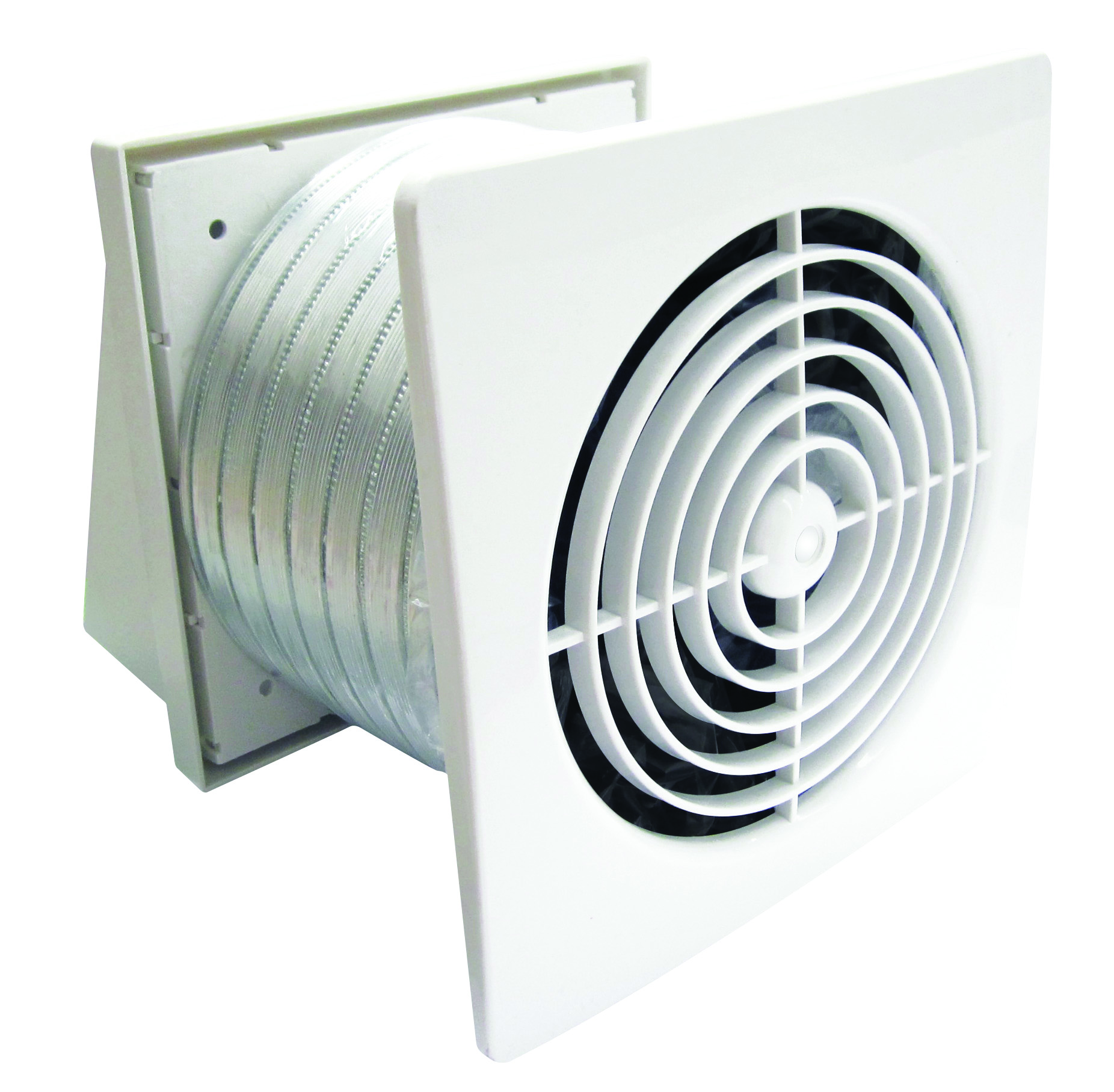 Through Wall Fan : Simx manrose pro series xplp low profile fan kits