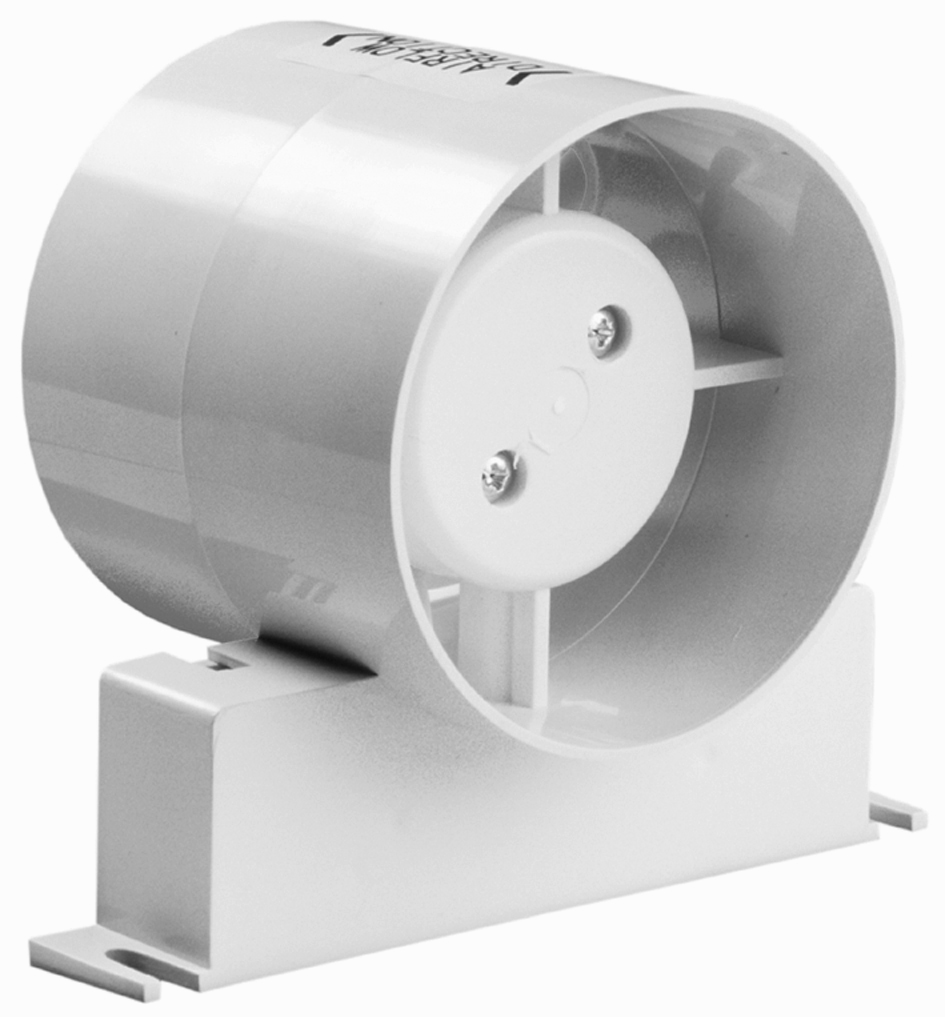 Pvc Inline Exhaust Fan : Simx manrose classic inline axial fans