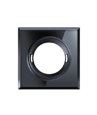 LHT1039_-_2108_-_Esylux_Flat_PIR_Sensor_Accessory_-_Polished_Glass_Trim_Square_black