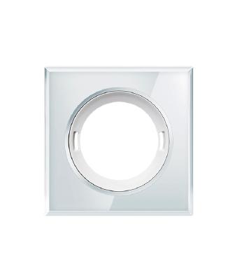 LHT1040_-_2108_-_Esylux_Flat_PIR_Sensor_Accessory_-_Polished_Glass_Trim_Square_White_