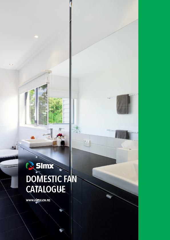 Domestic Fan Catalogue
