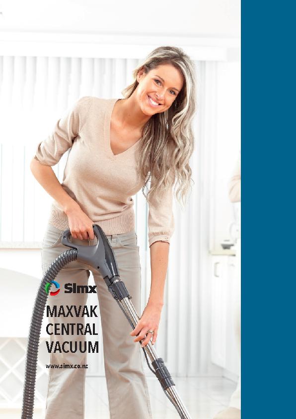 MaxVak Central Vacuum Catalogue