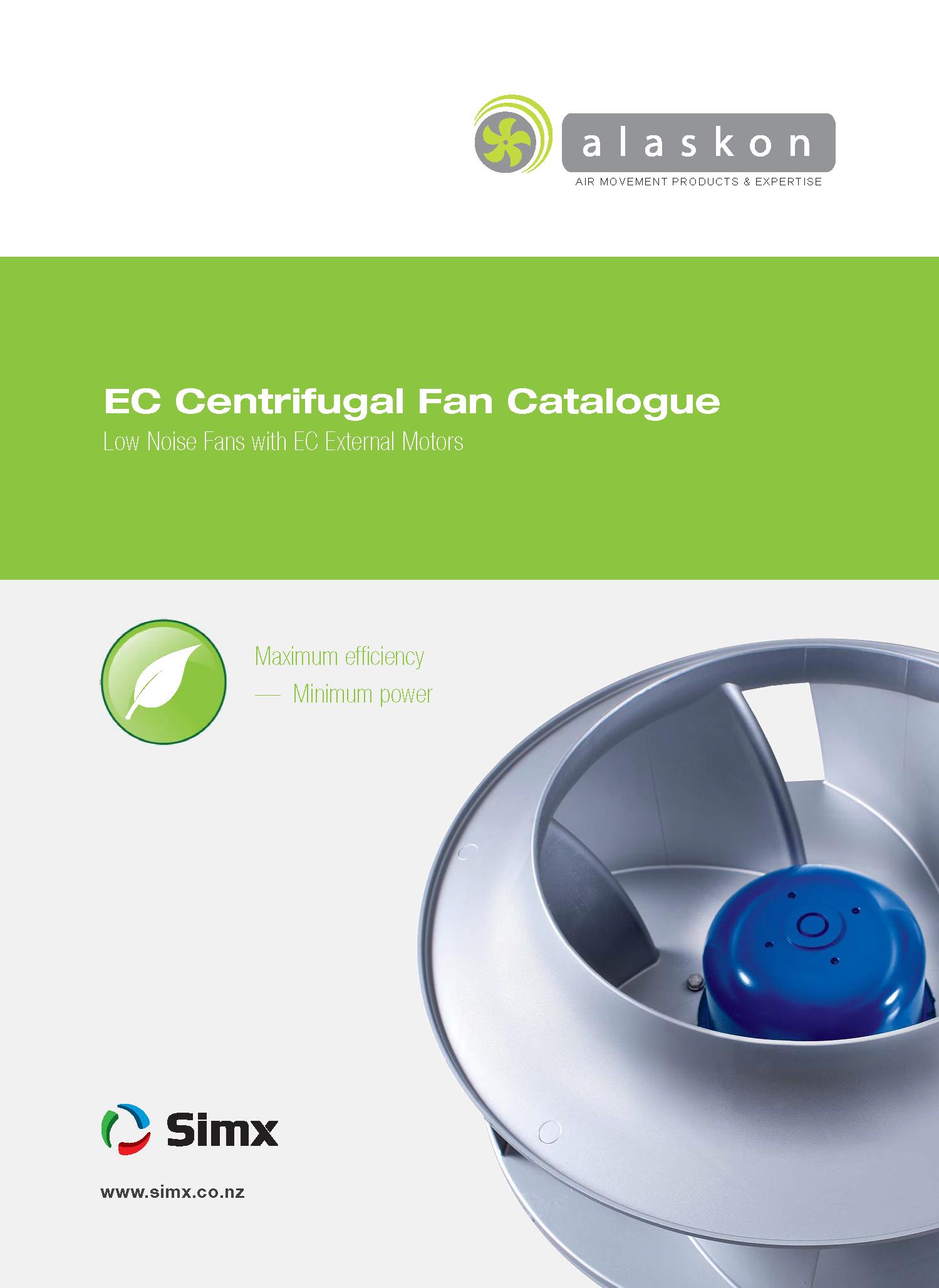 EC Centrifugal Fan Catalogue