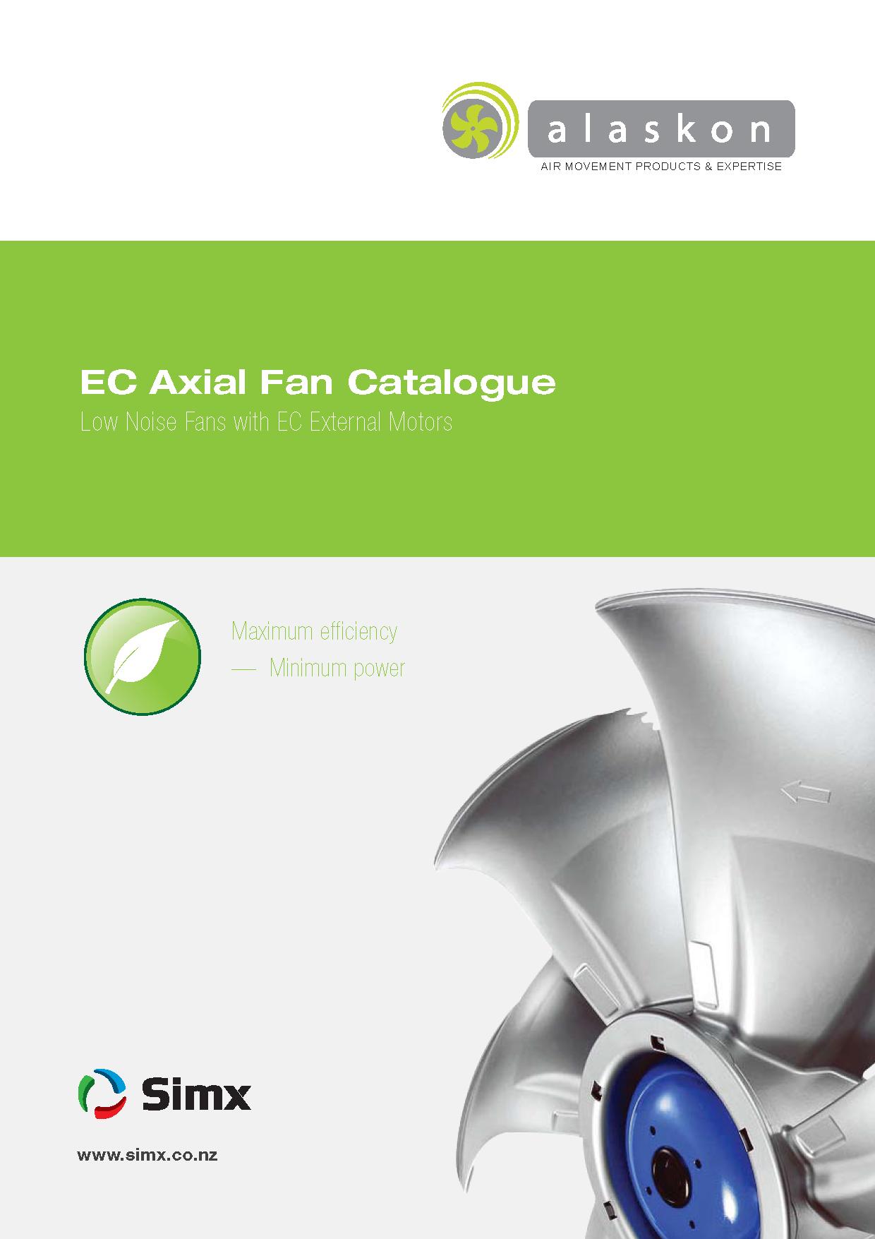 EC Axial Fan Catalogue