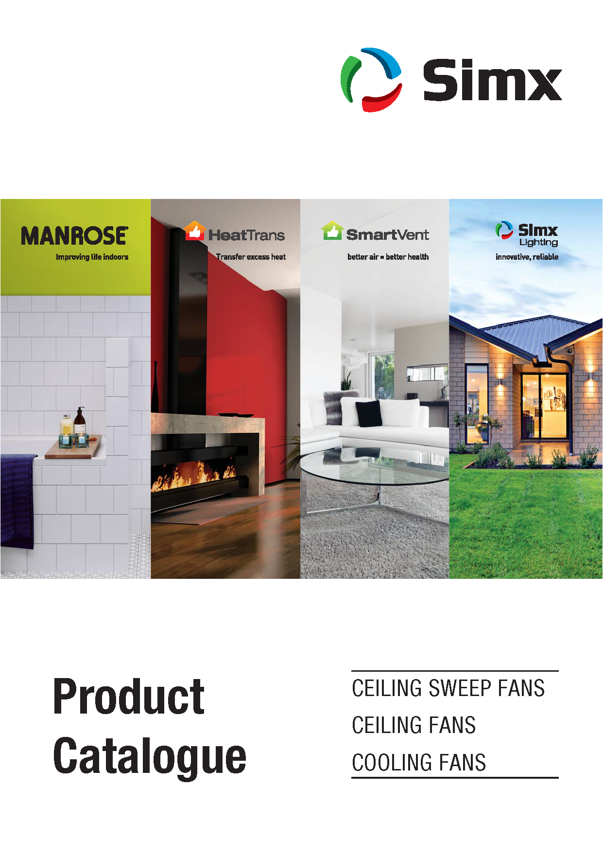 Ceiling Sweep Fans and Cooling Fans Catalogue