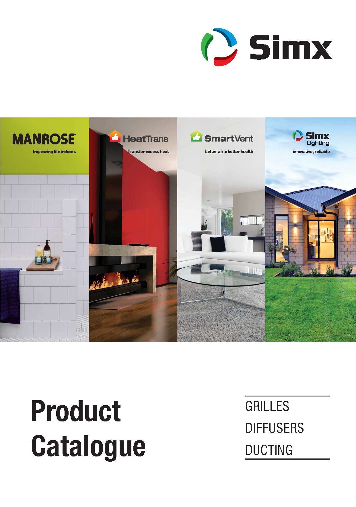 Grilles, Diffusers and Ducting Catalogue