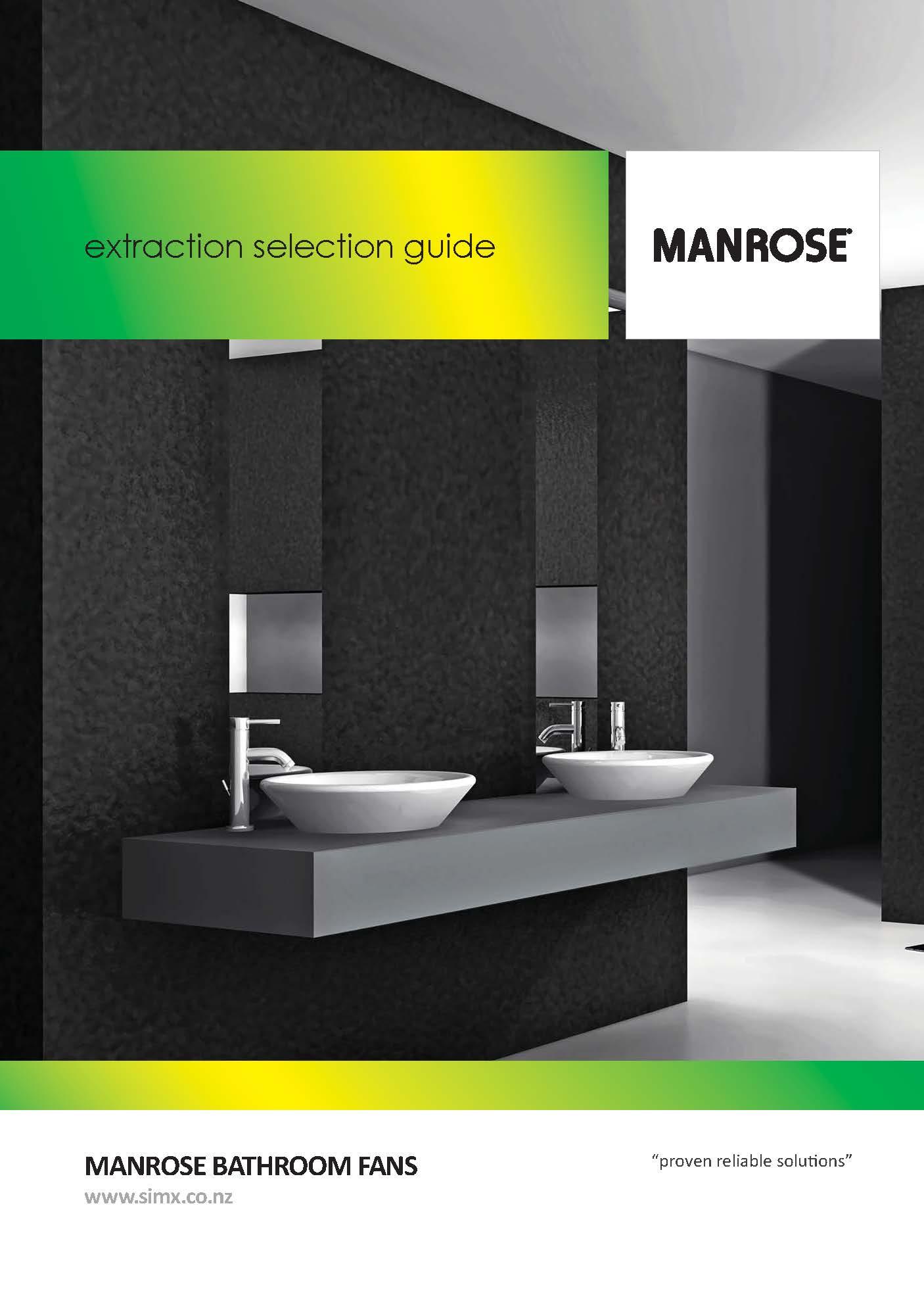 Extraction Fan Brochure