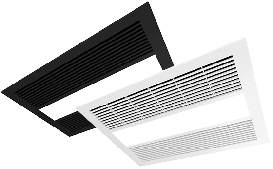New Integrated Milan LED Fan Heater